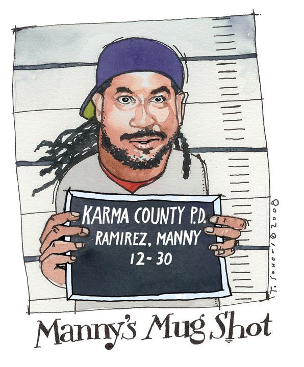 Manny Ramirez MugShot