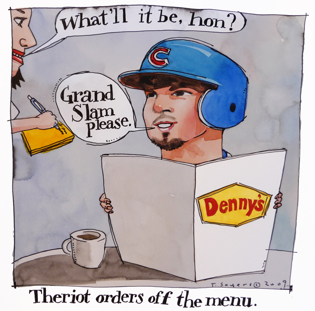 Ryan Theriot Dennys