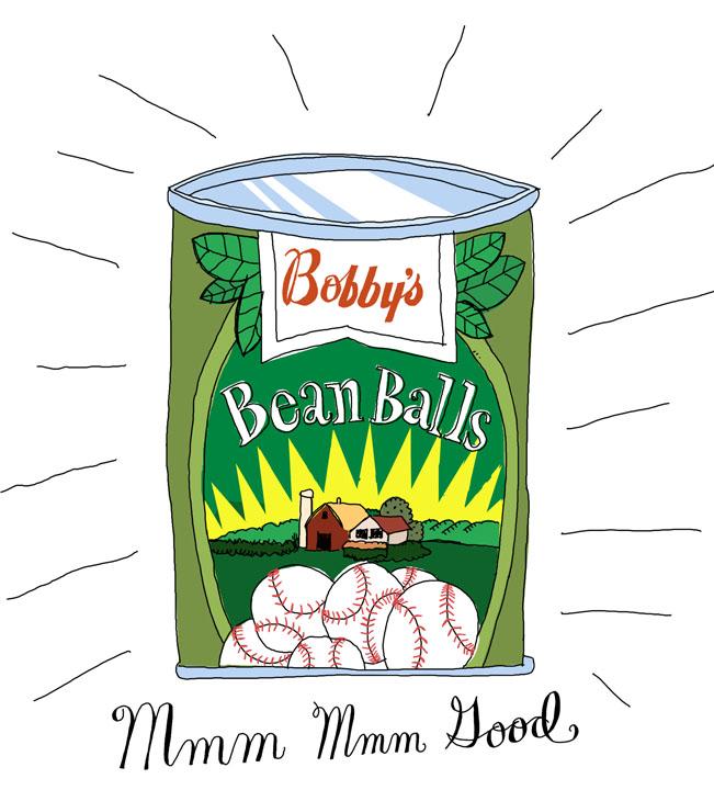 Bean balls