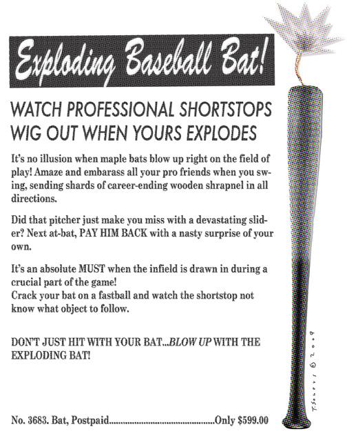 Exploding bat