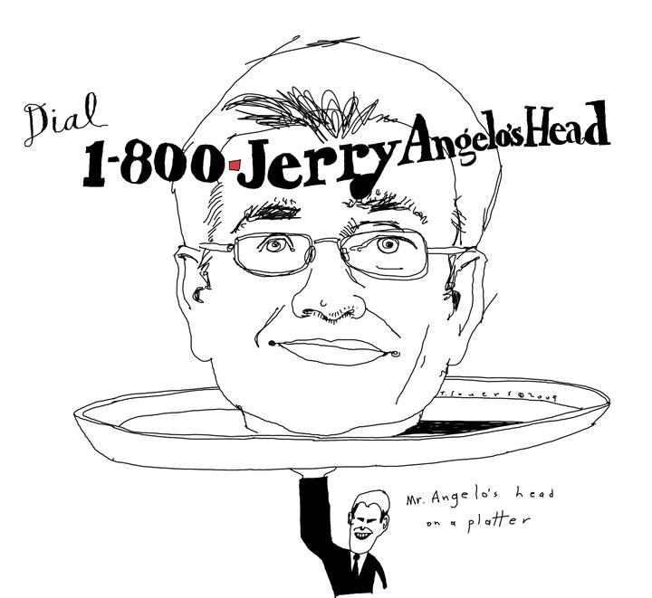 1-800-Jerry Angelo's Head