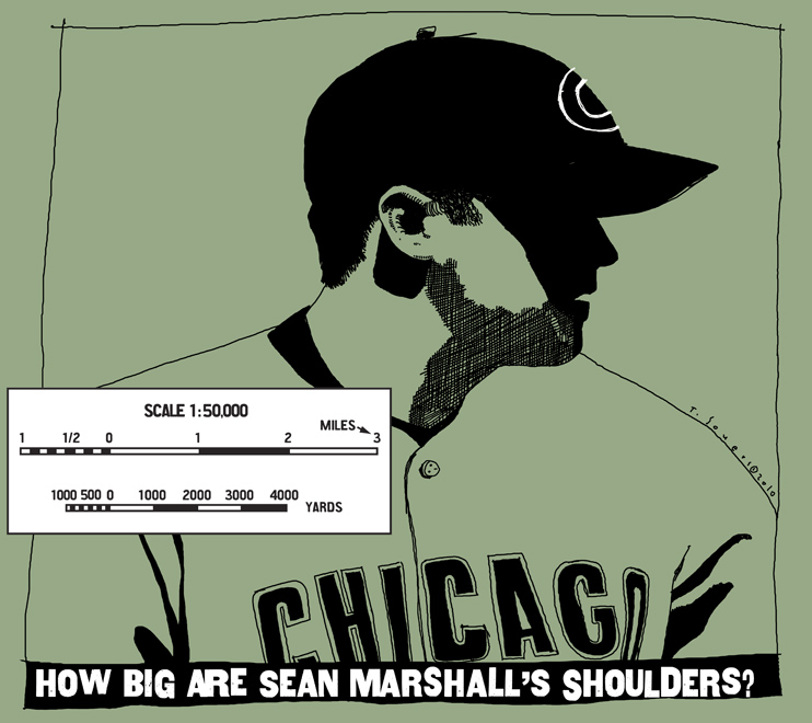 Sean Marshall shoulders