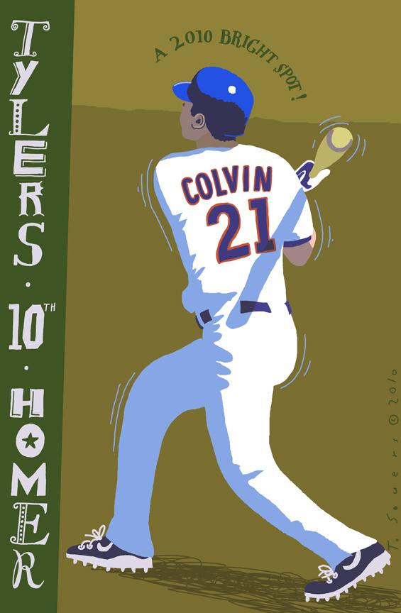 Tyler Colvin Homer