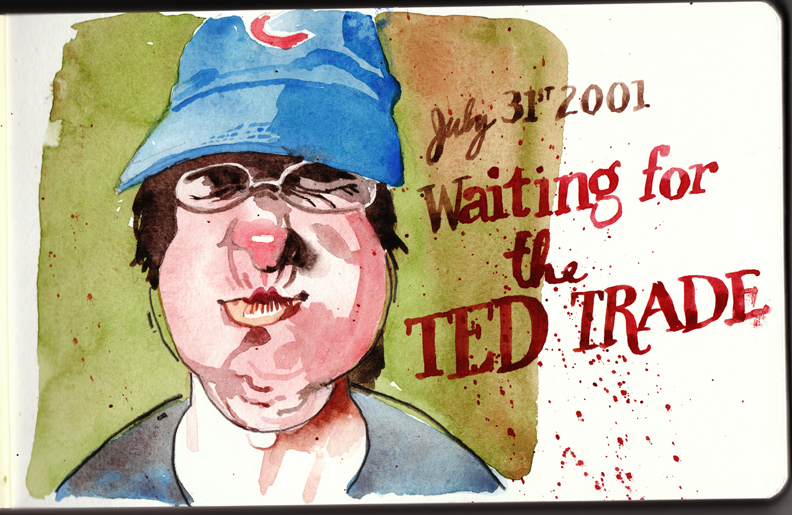 Ted Holding My Breath