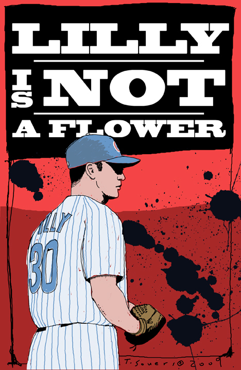 Ted Lilly is not a flower