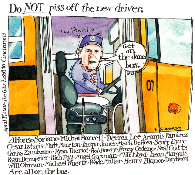 Lou Piniella Bus Driver