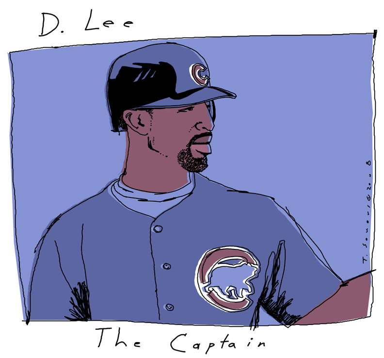 Derrek Lee The Captain