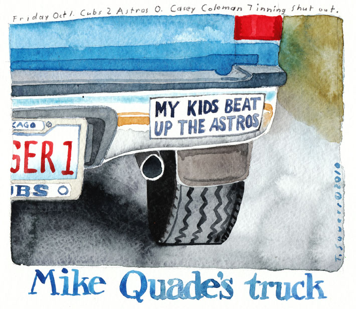 Mike Quade's Truck