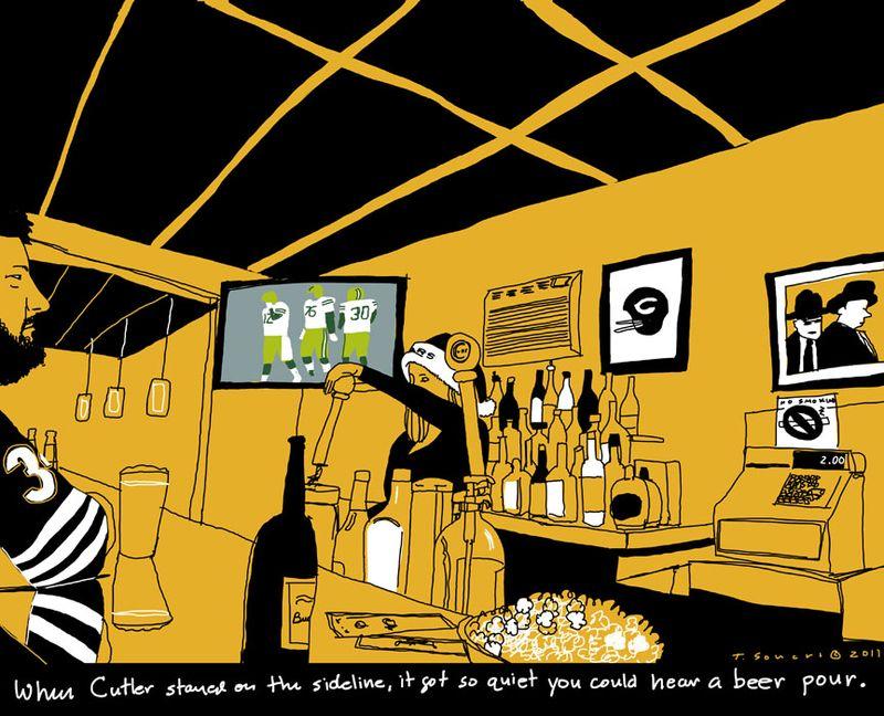 Bears At A Bar