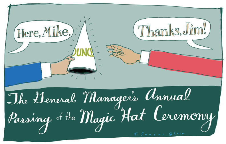 Passing Of The Dunce Hat