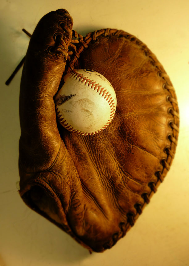 Phil Cavaretta Glove