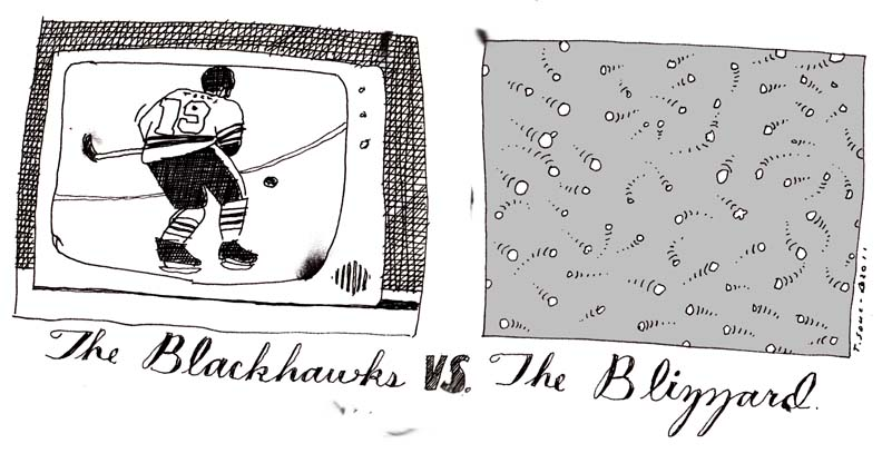 Blackhawks vs Blizzard