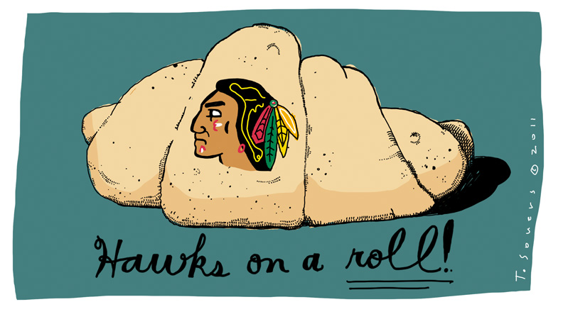 Blackhawks On A Roll