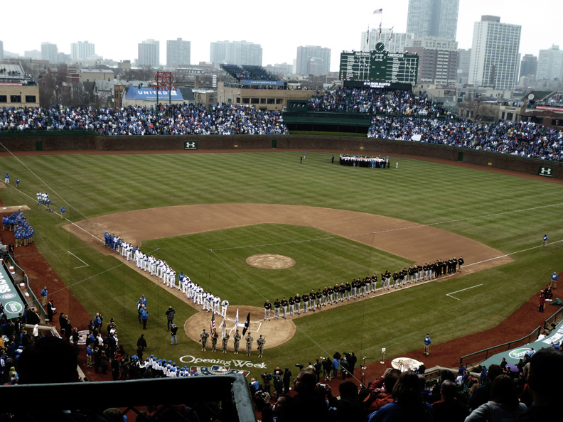 Opening Day Wrigley Field