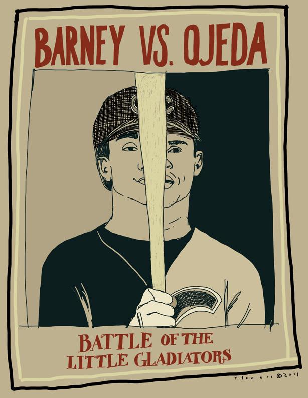 Barney vs Ojeda