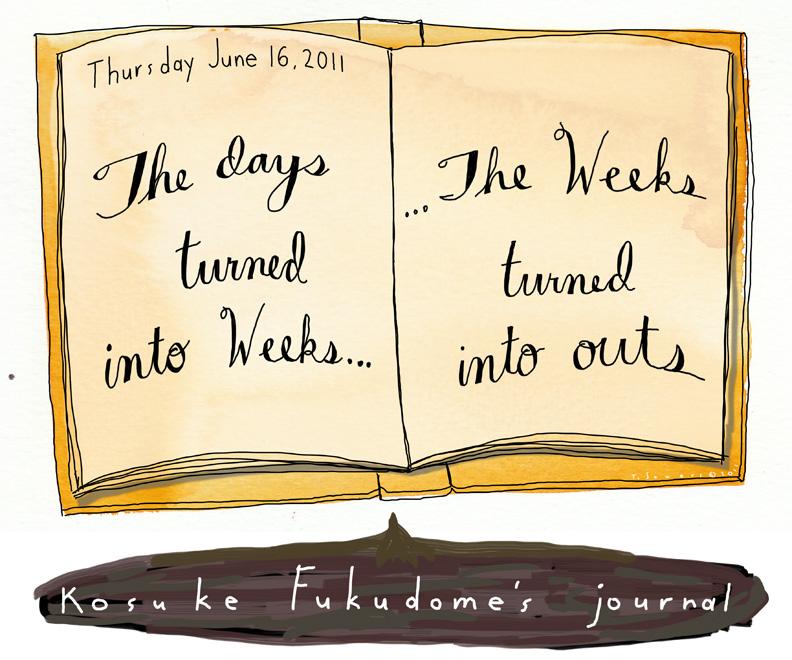 Kosuke Fukudome Journal