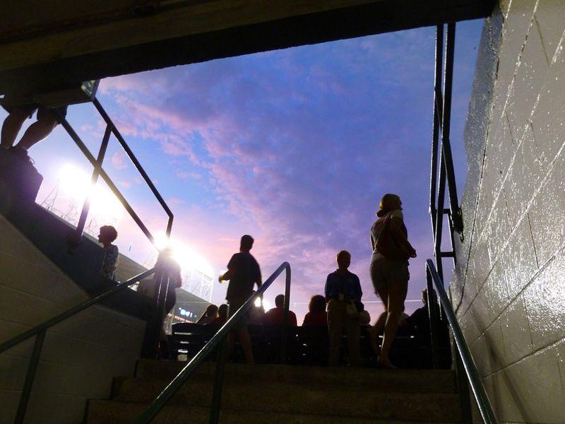 Wrigley Field Sky