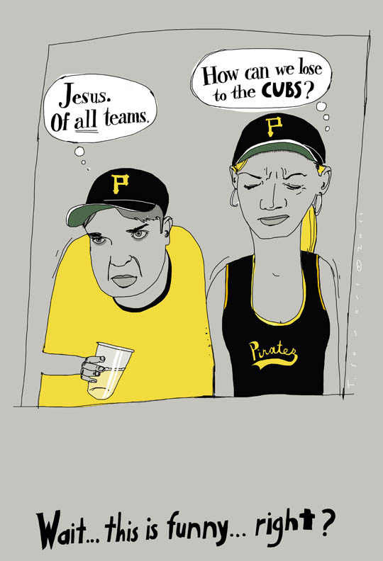 Pittsburgh Pirates, art image, cartoon