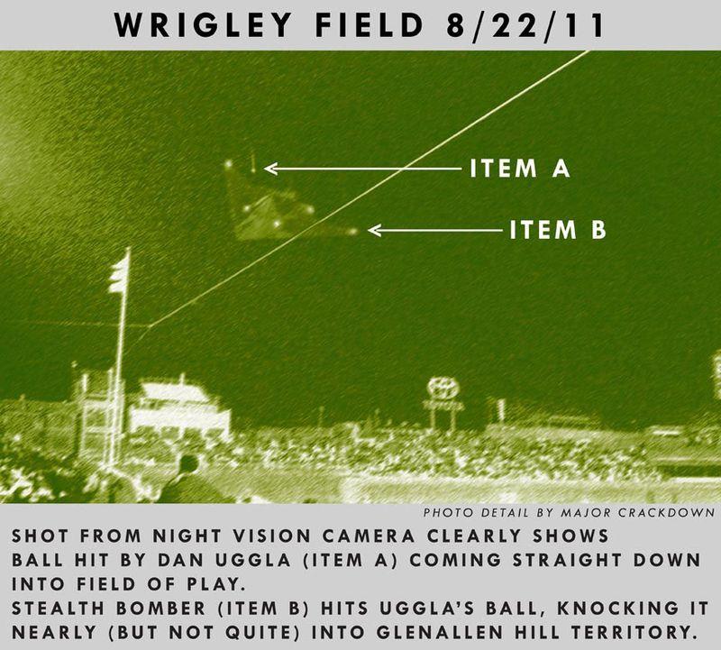 Dan-Uggla,-home-run,-wrigley-field,-stealth-bomber