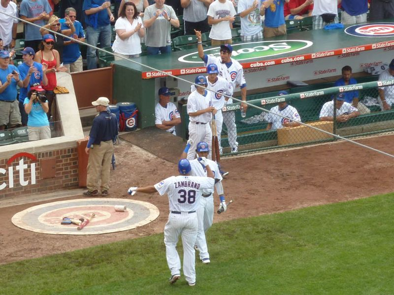 Wrigley Field, Chicago Cubs, zambrano home run