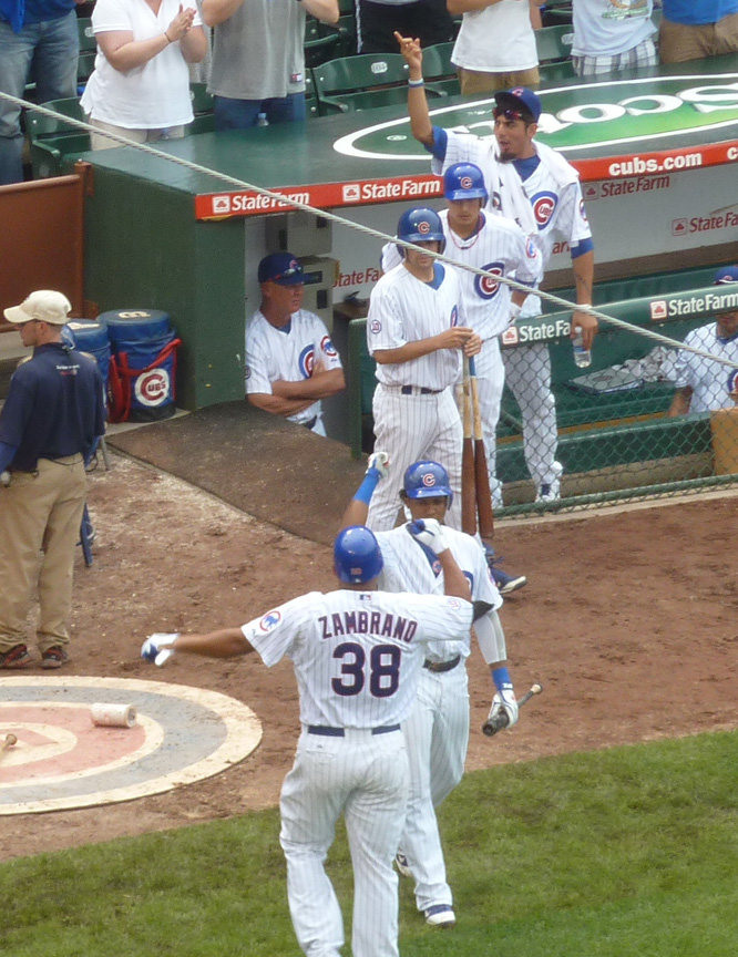 Carlos Zambrano, Home Run, Wrigley Field, Mike Quade