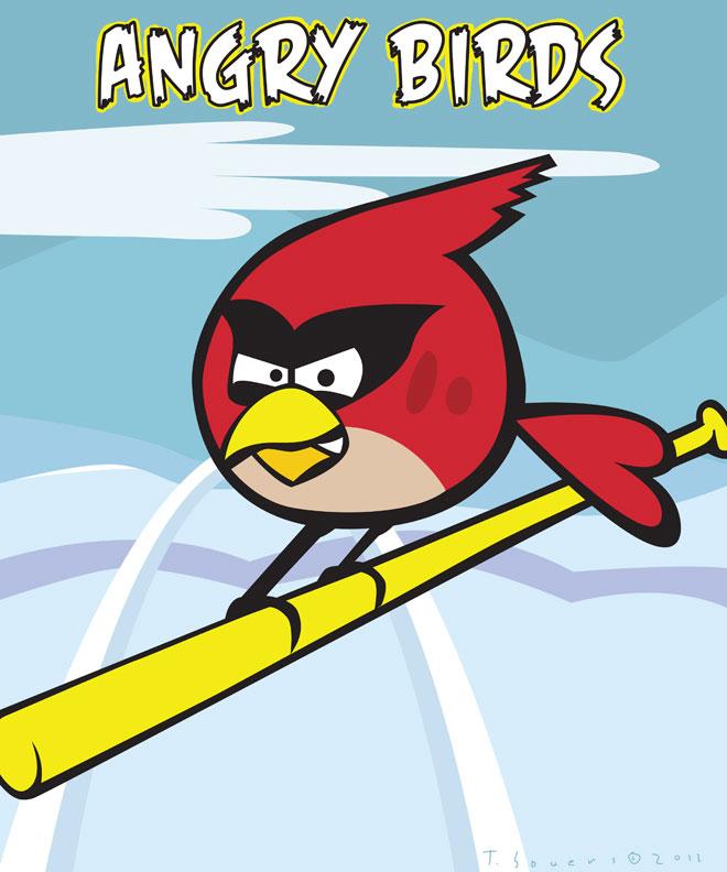 Cardinals Vs Cubs Angry Birds St