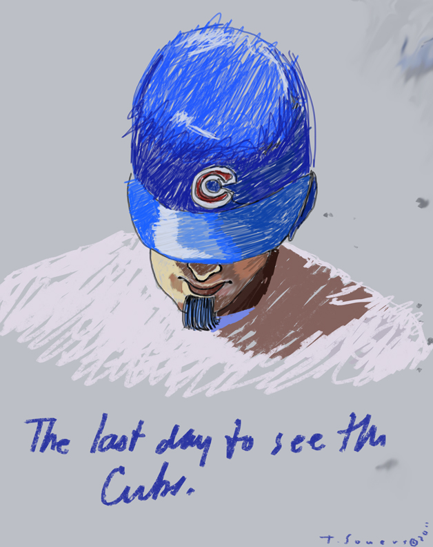 Reed Johnson, chicago cubs, illustration, art image