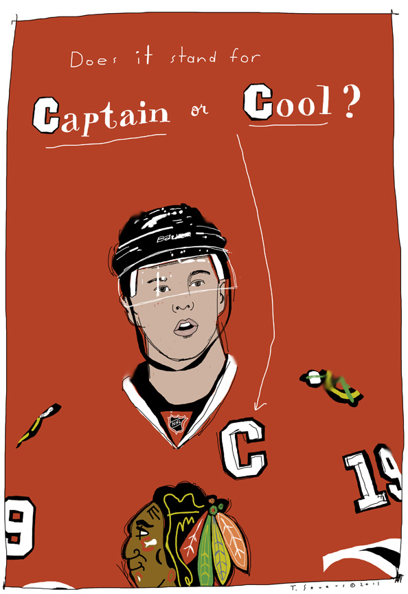 Jonathan Toews,captain,chicago blackhawks