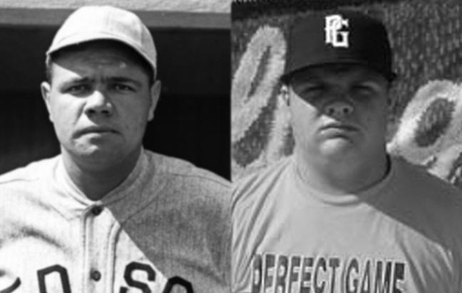 Babe Ruth,Dan Vogelbach,reincarnation