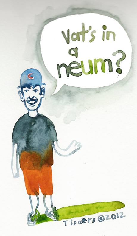 What's in a name, cartoon, Dale Sveum