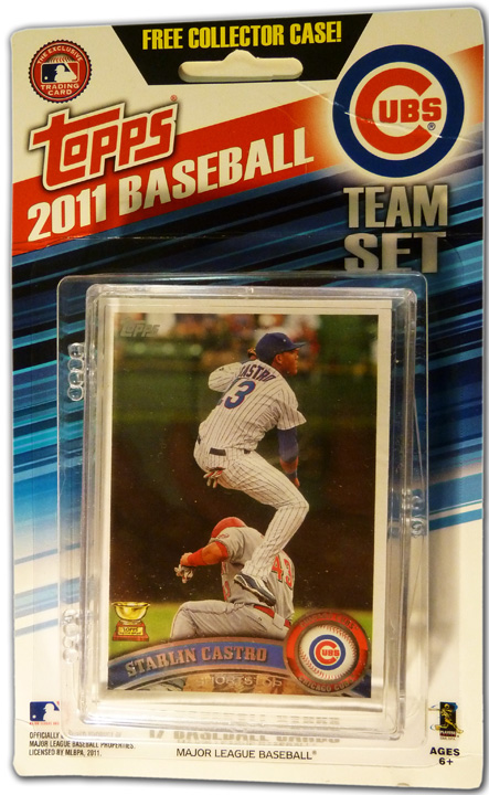 Topps 2011 baseball cards Cubs