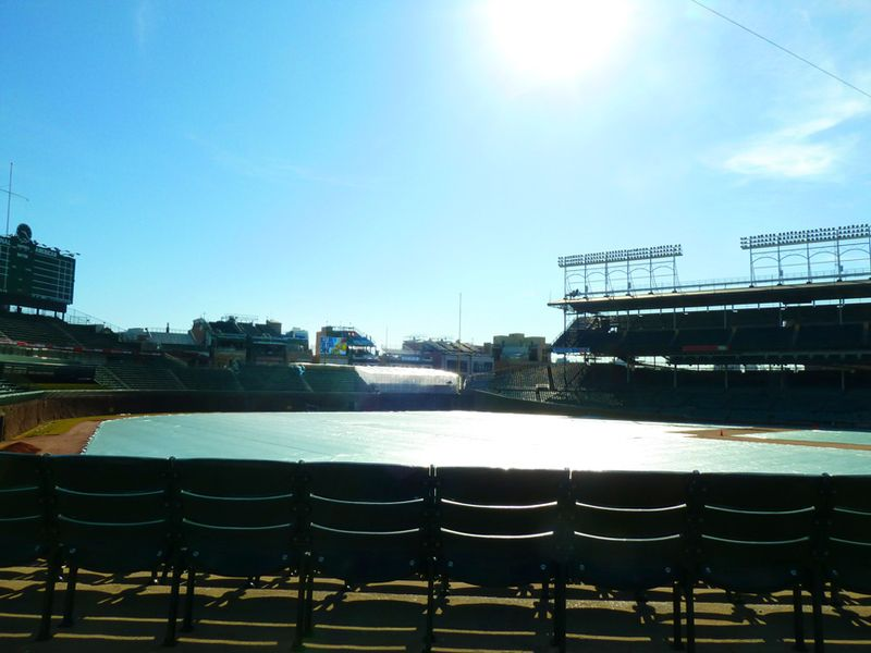 Wrigley field,2012,budweiser patil