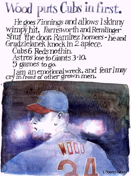 Kerry Wood,2003,chicago cubs