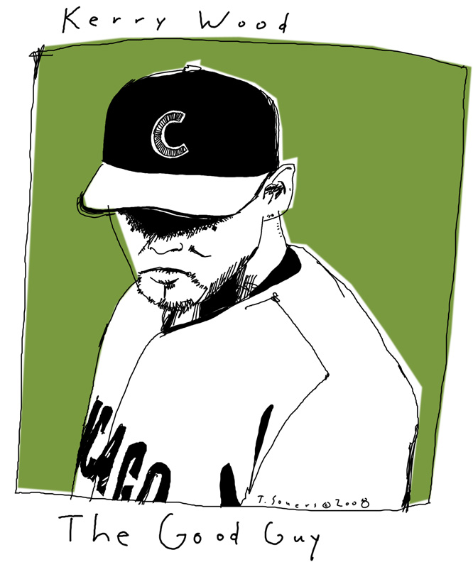 Kerry Wood,the good guy,chicago cubs