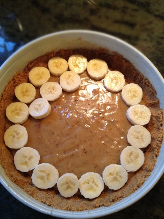 Banoffee Pie,bananas