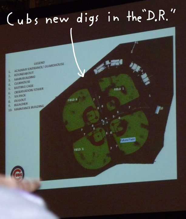 Cubs-Convention,Dominican-Republic-Facility
