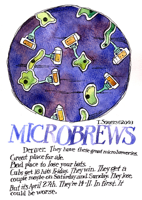 Microbrews, art, art image, cartoon