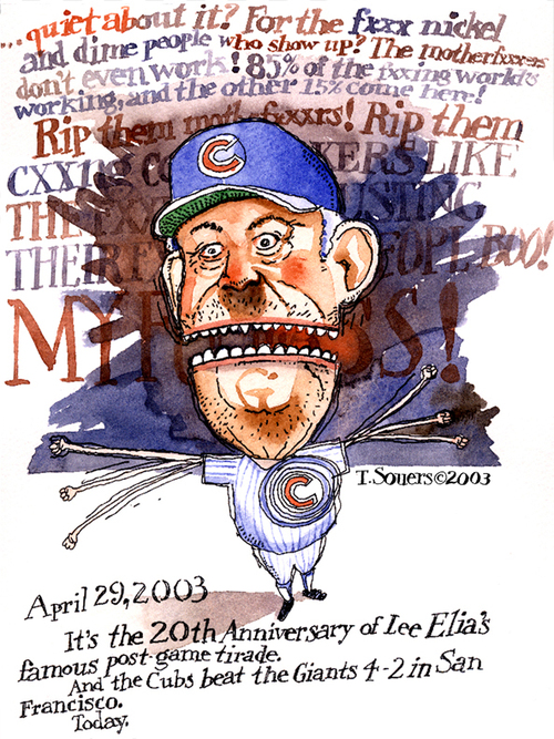 Chicago cubs, Lee Eiia
