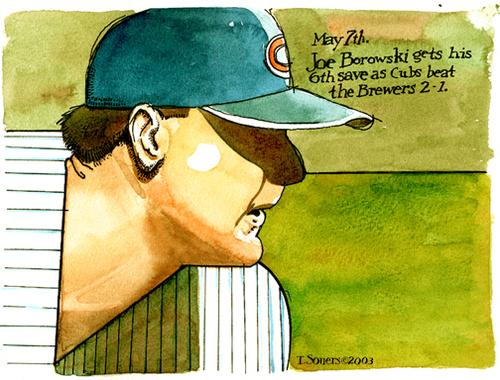 Joe Borowski, illustration