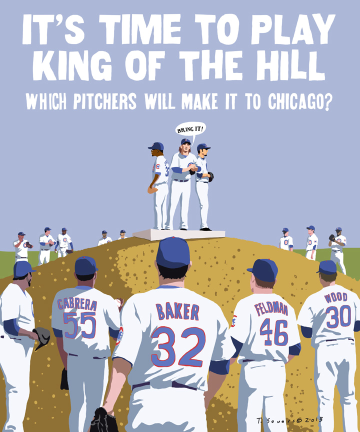 King of the hill, chicago cubs