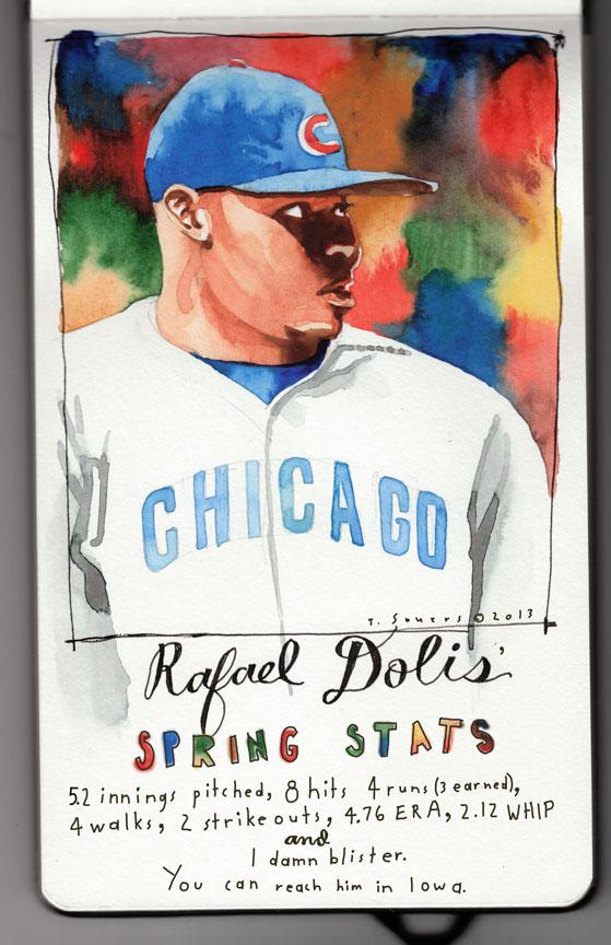 Rafael Dolis,chicago cubs