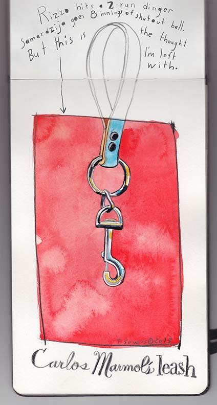 Carlos Marmol's Leash
