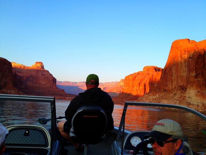 Fishing,Lake Powell
