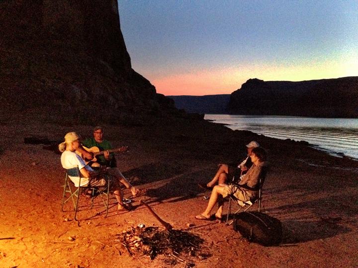 Camping, Lake Powell