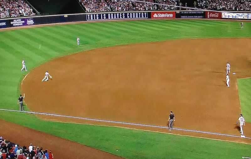 Atlanta Braves,infield fly rule,bad call