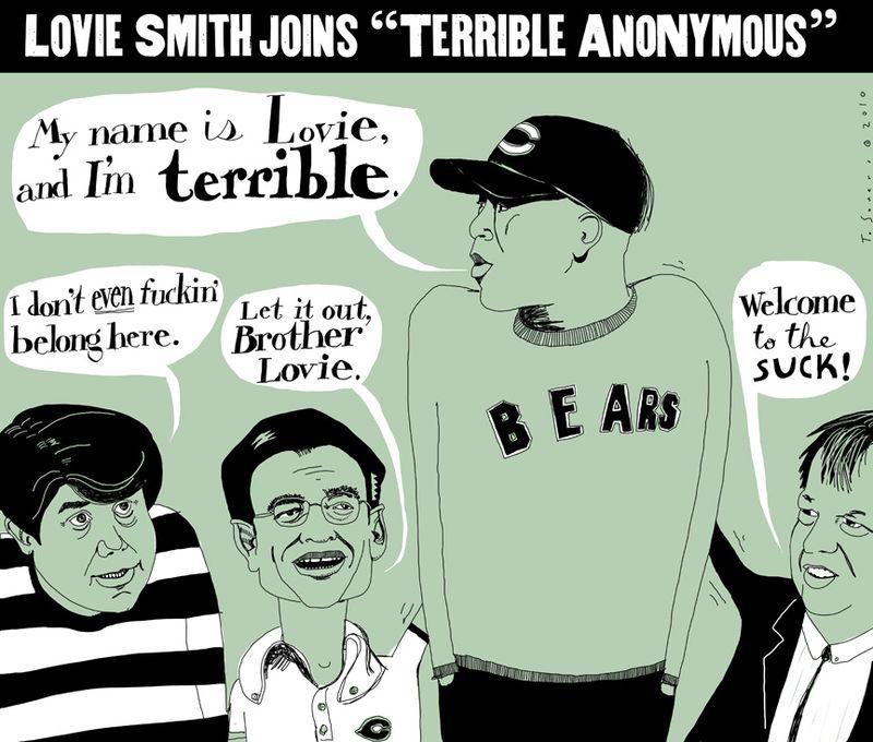 Lovie Smith is terrible
