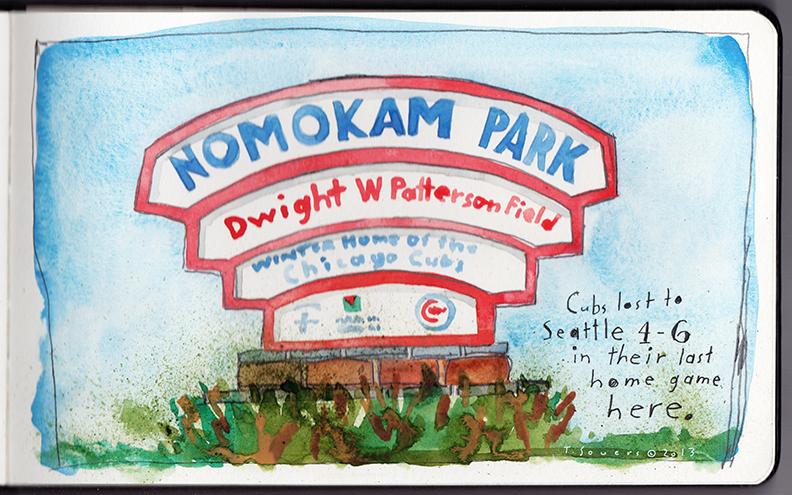 Hohokam Park is Nomokam Park