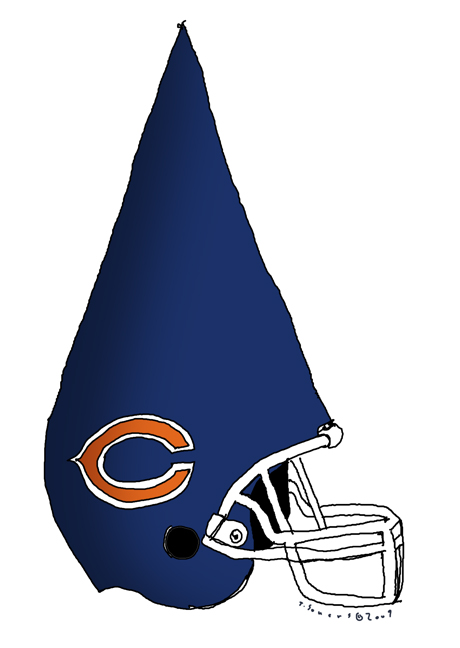 Bears Dunce Helmet