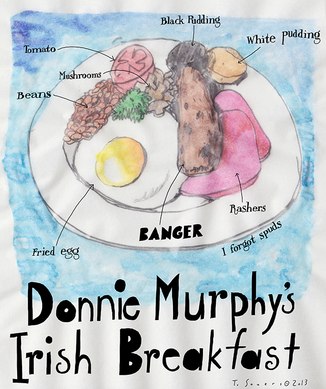 Donnie Murphy's Irish Breakfast