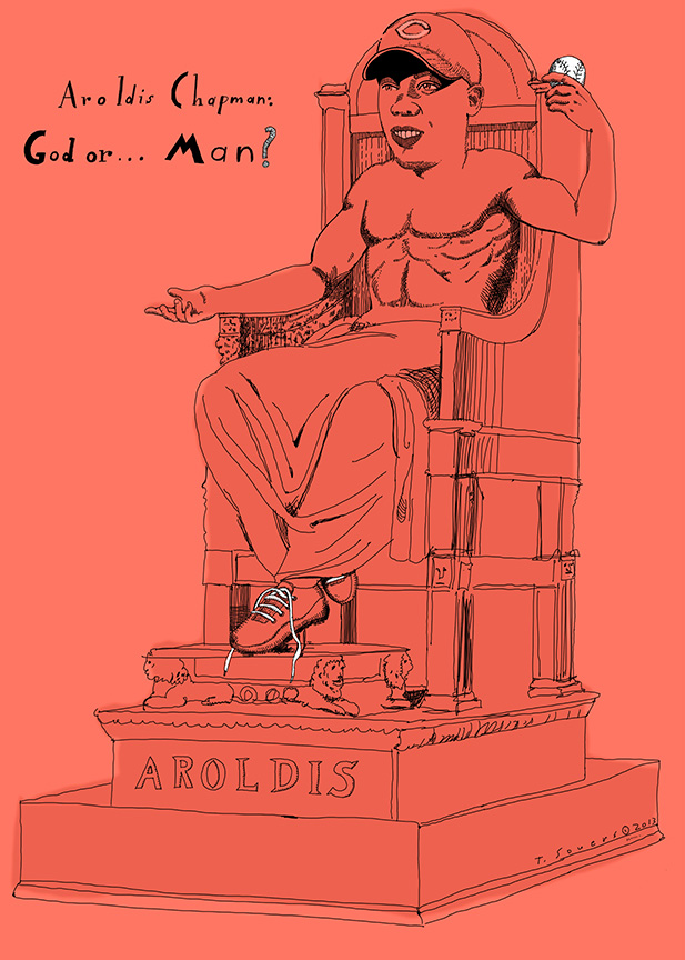 Aroldis_Chapman,god,cartoon